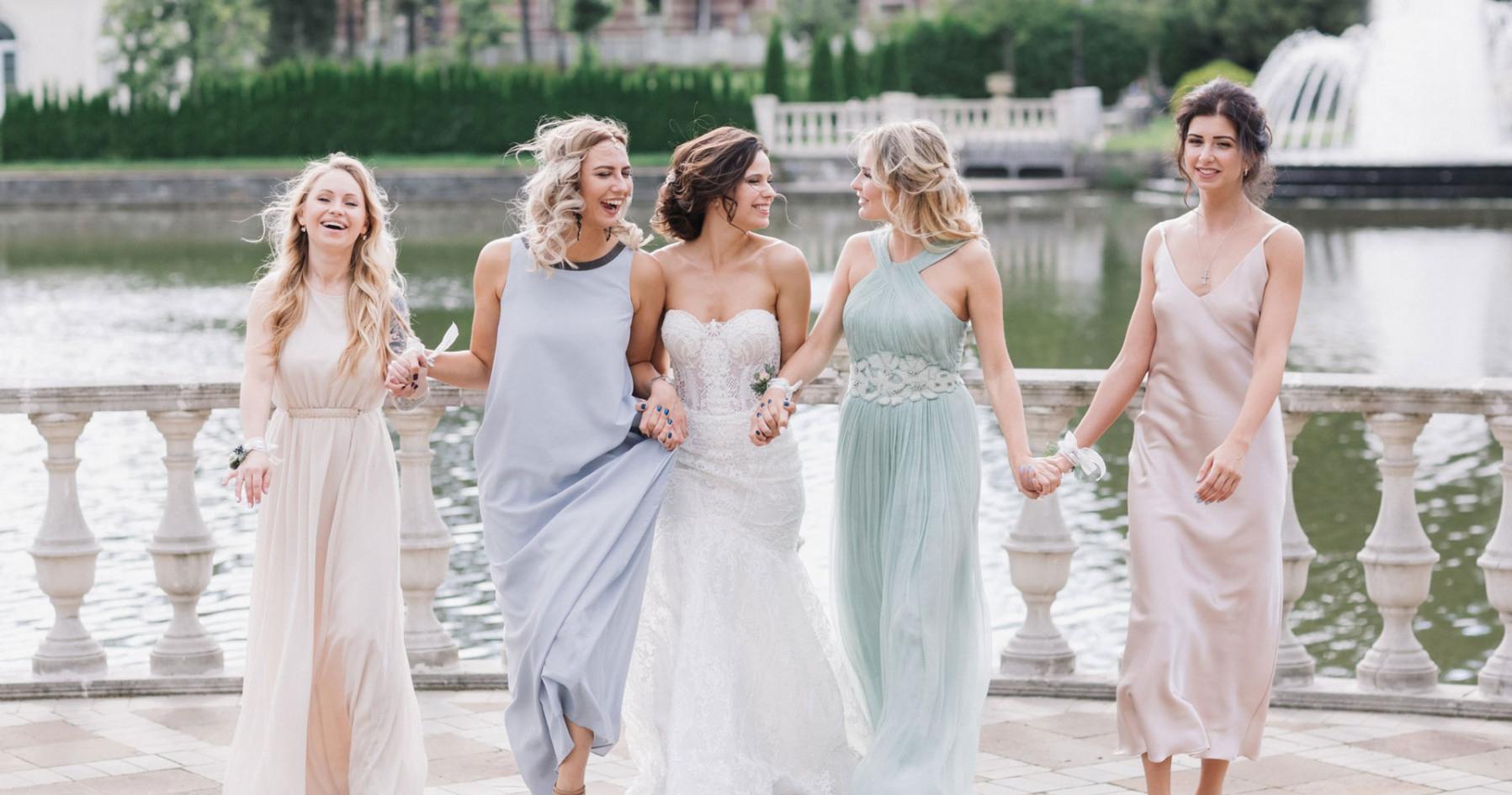 Нежная свадьба в пастельных оттенках