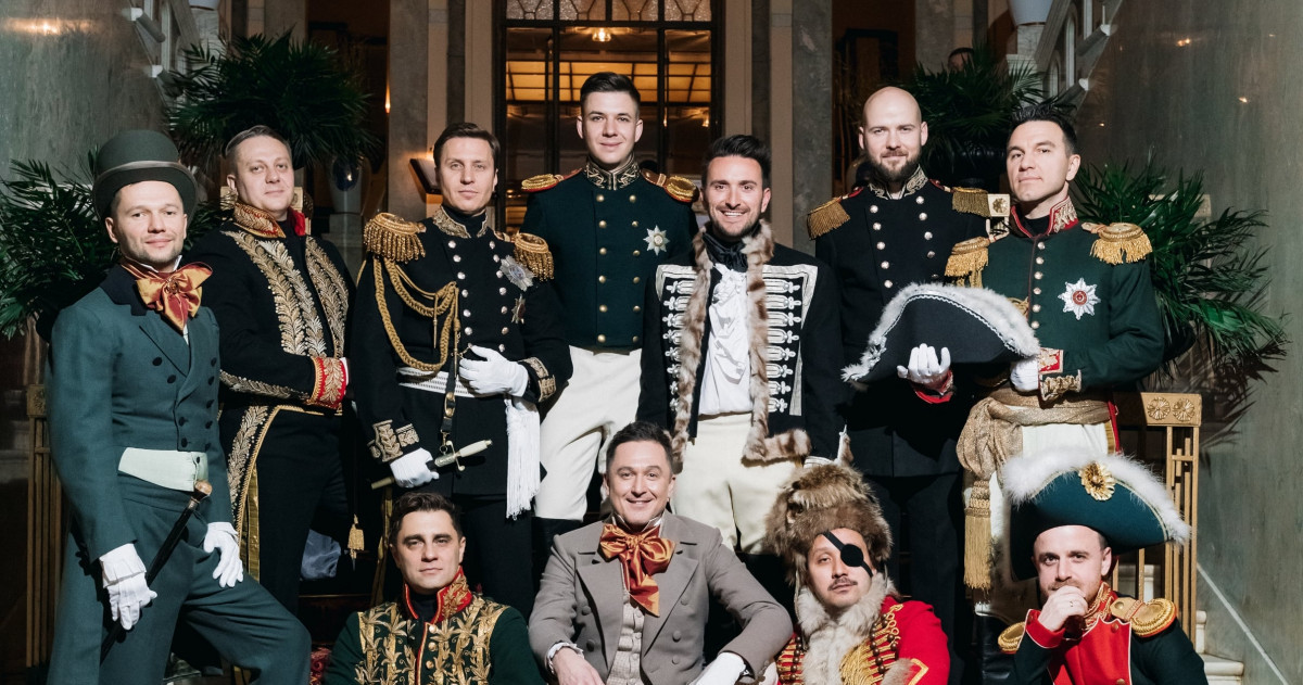 Bachelor party TOP15MOSCOW at the BELMOND GRAND