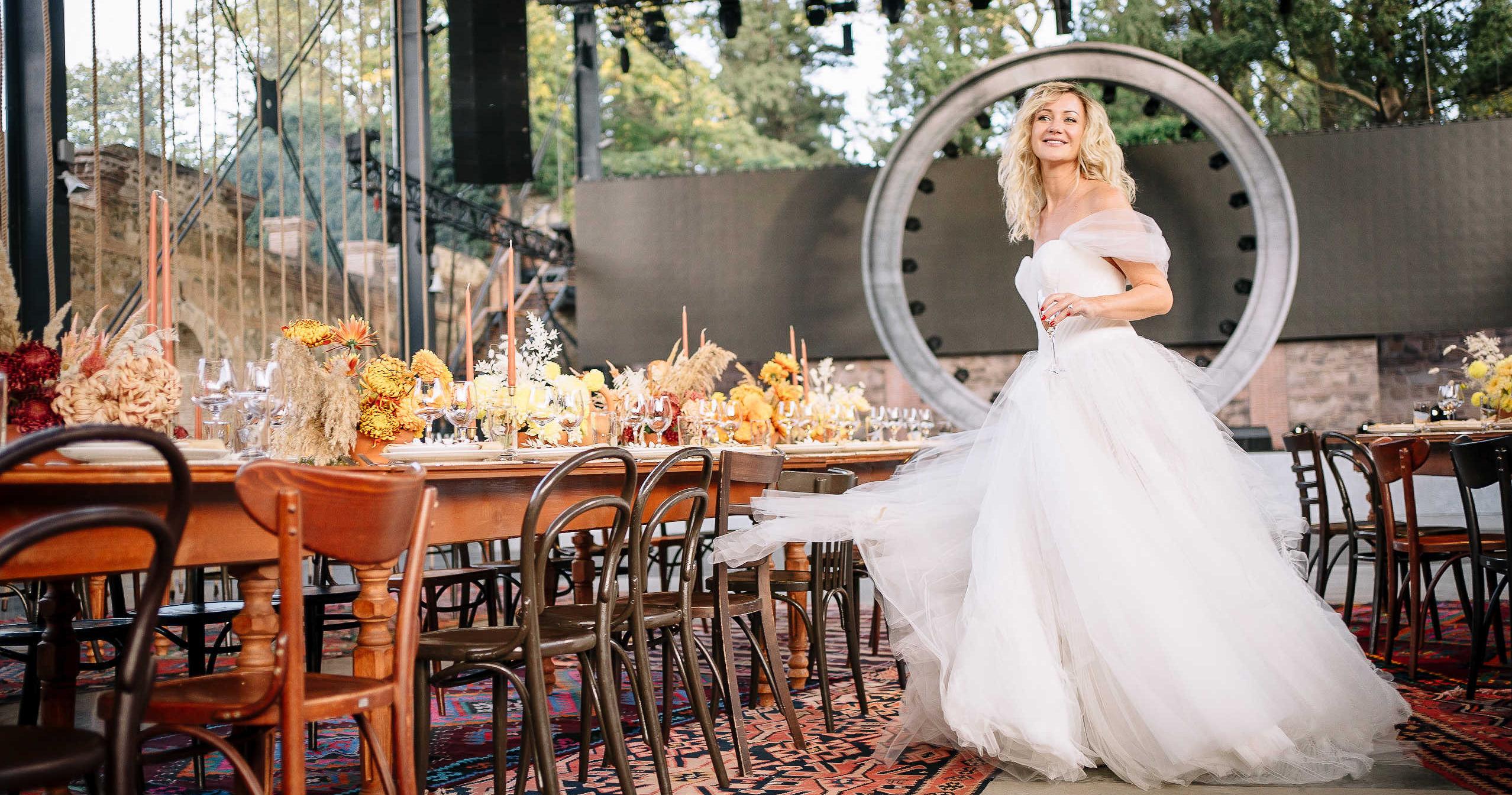 Колоритная свадьба в Грузии
