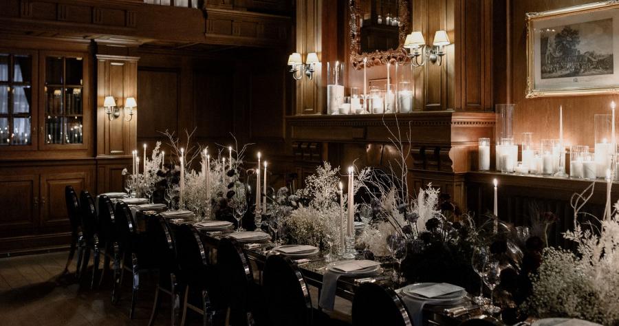 Каким должен быть декор свадебного ужина?