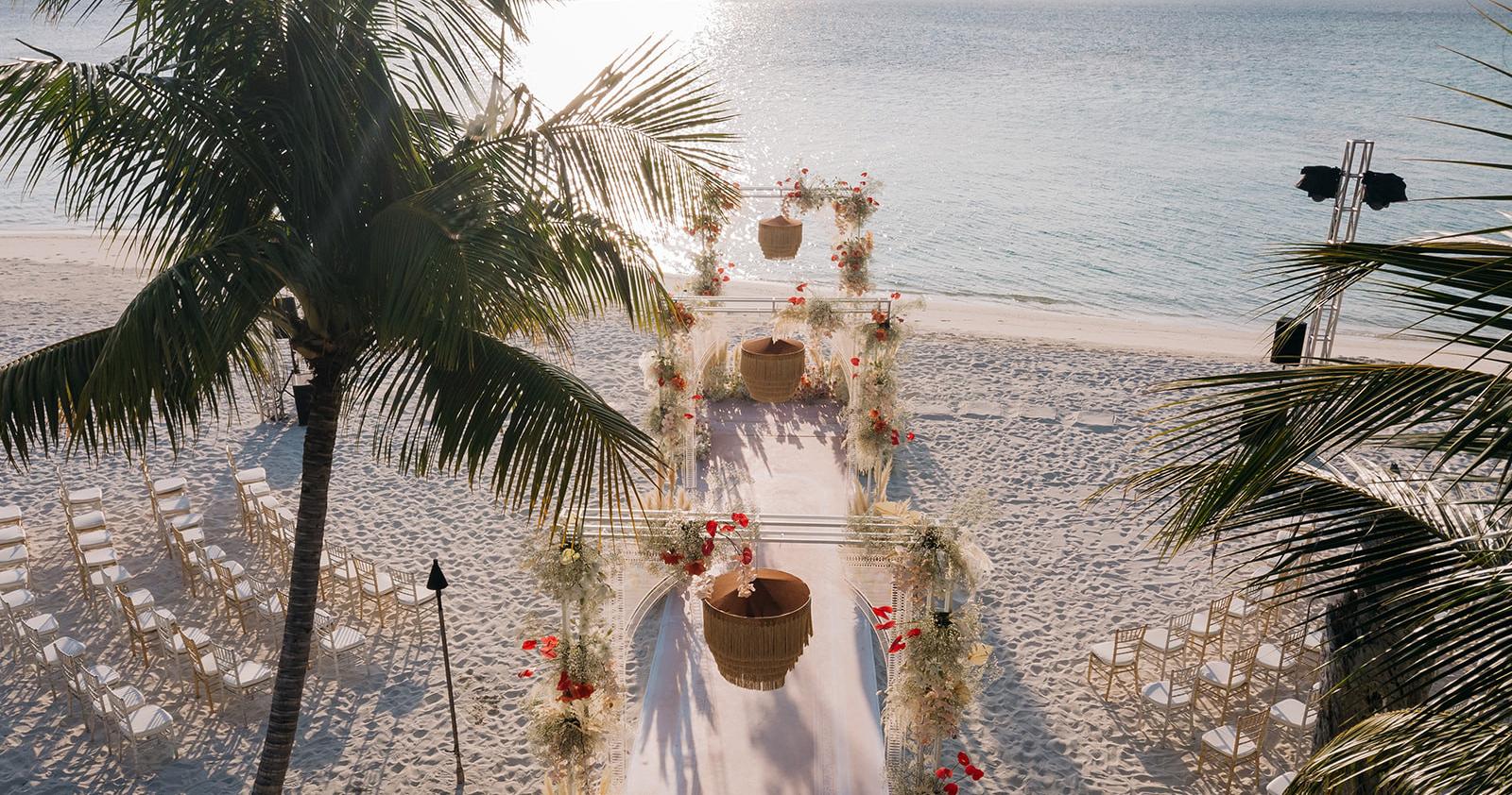 Свадьба мечты на Мальдивских островах