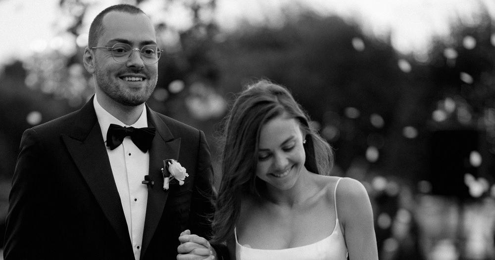 Безупречно стильная летняя свадьба