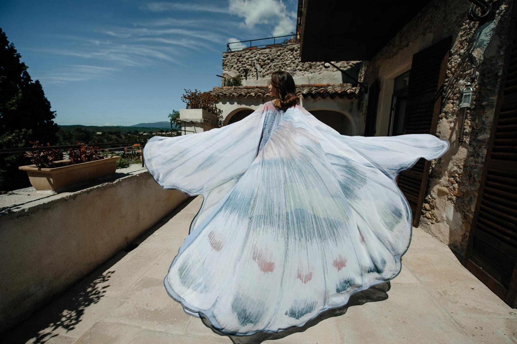 Порхающие бабочки: свадьба в Ницце