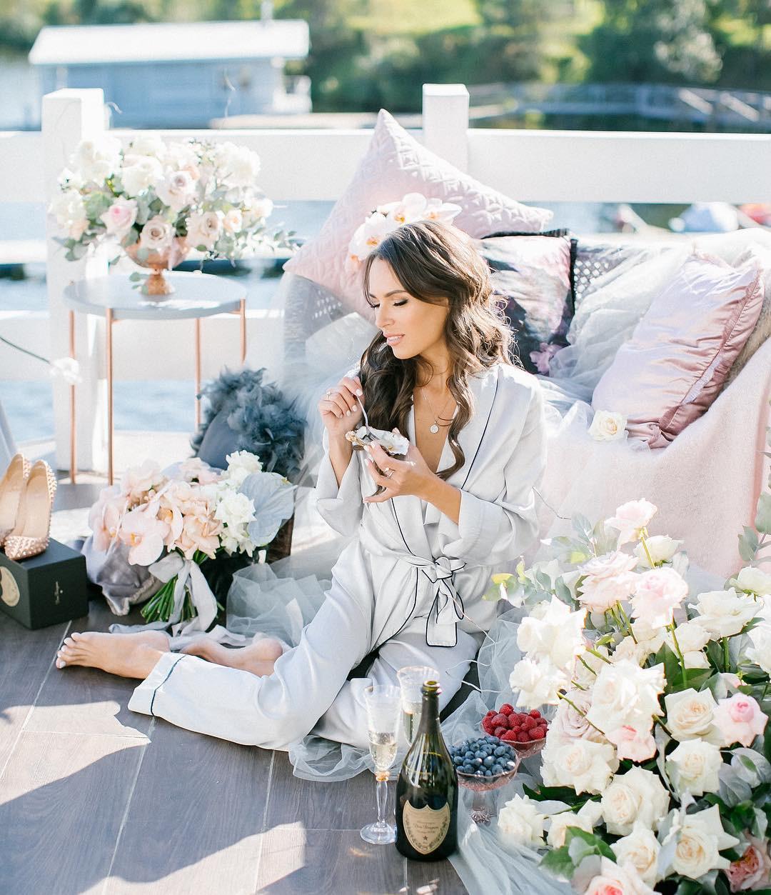 3 шоу-рума с красивыми пижамами для невест