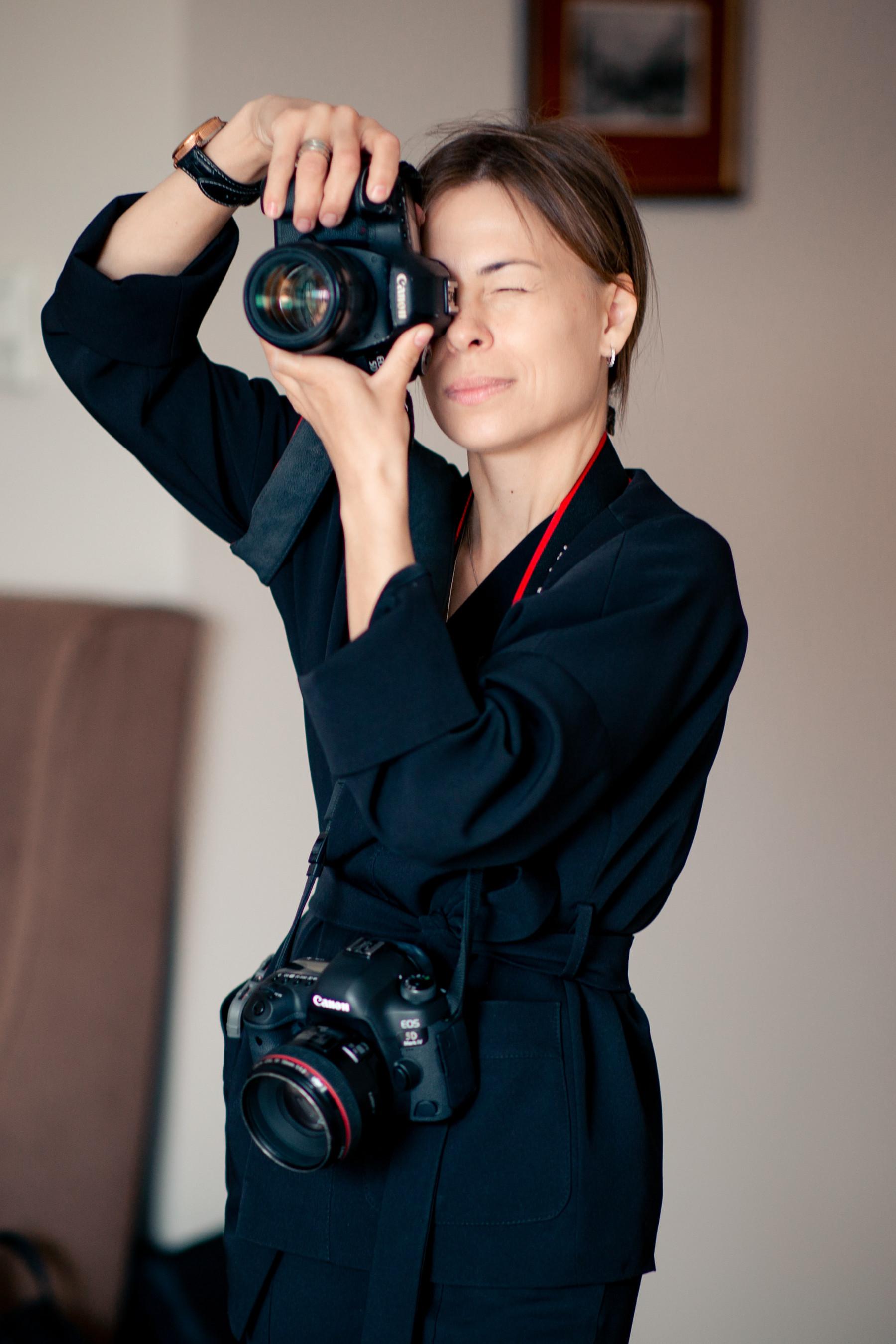 Фотограф Наталья Легенда о том, как создаётся