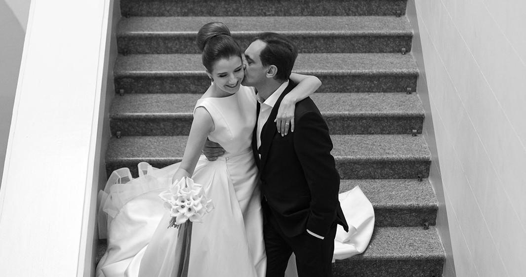 Свадьба в католическом соборе в Москве