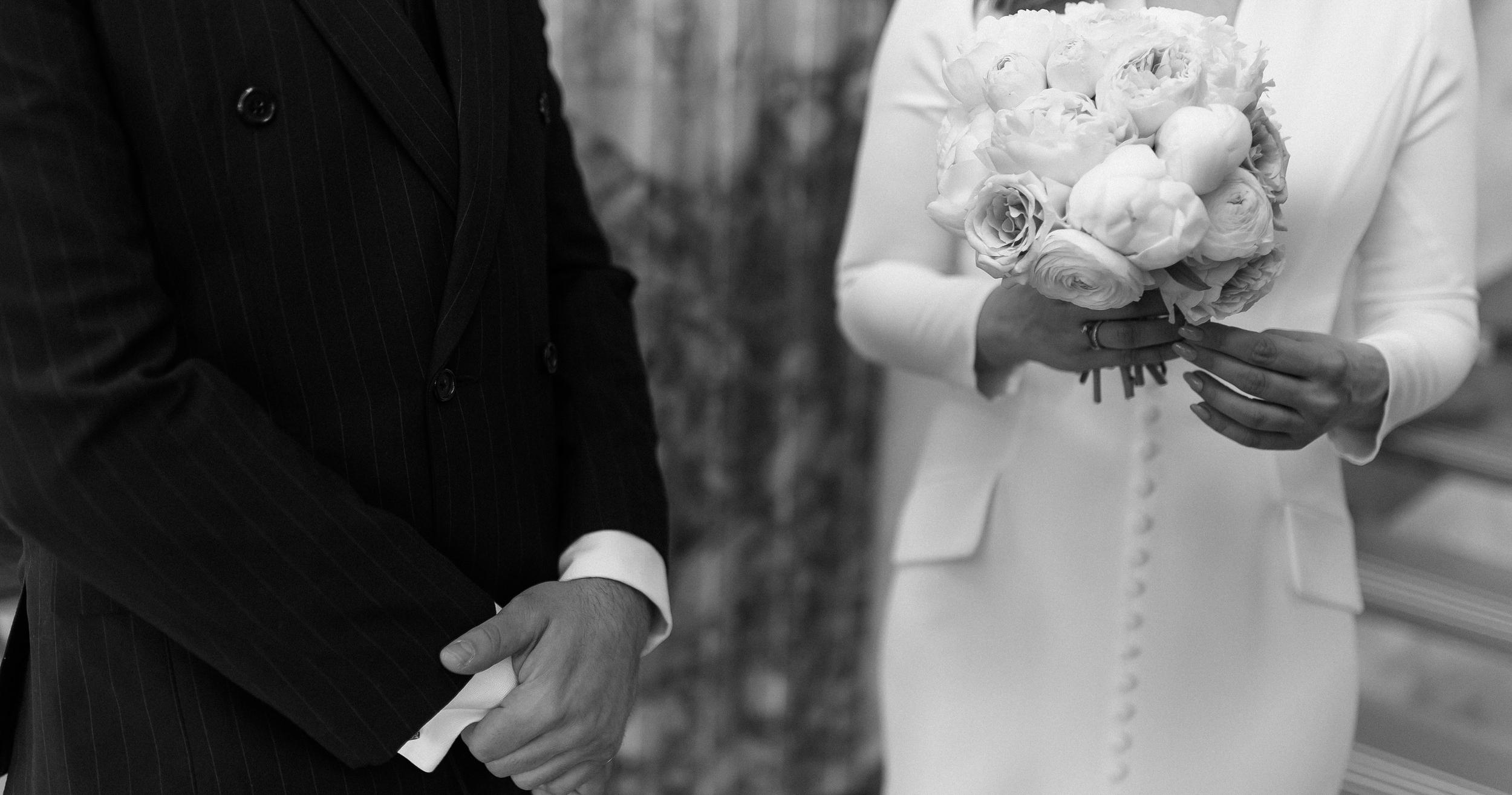 Камерная свадьба в ресторане Butler со свечами