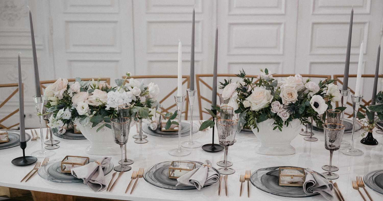 Камерная свадьба в особняке с двумя церемониями