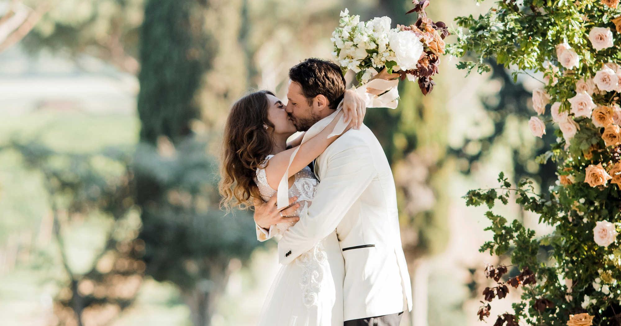 Свадьба актера Евгения Пронина в итальянском бутик-отеле