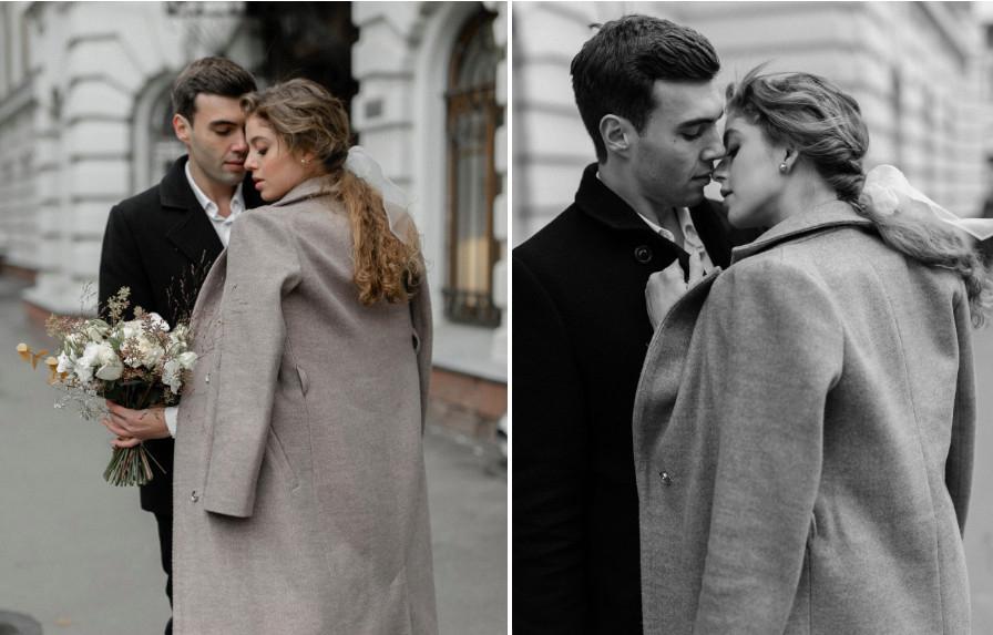 Хвост с бантом — самая трогательная свадебная