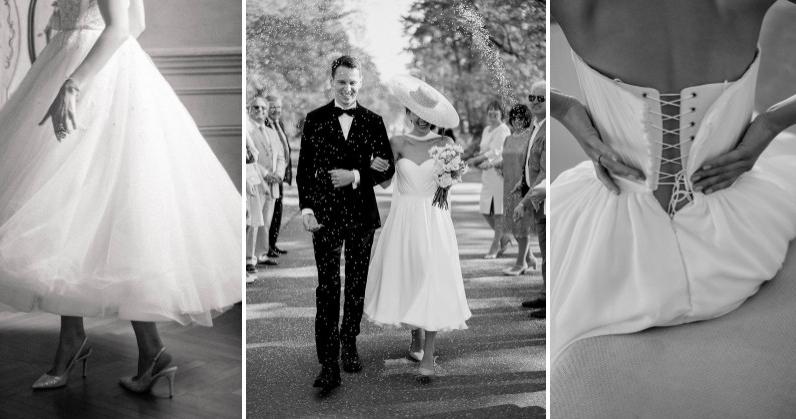 Cвадебные платья в стиле 1950-х возвращаются в