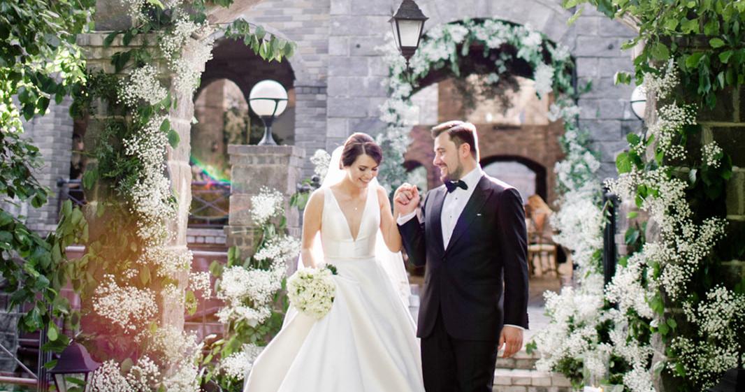 Свадьба в сказочном саду