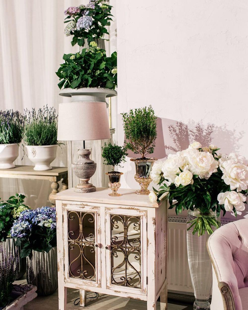 Вдохновение лавандой как концепция декора