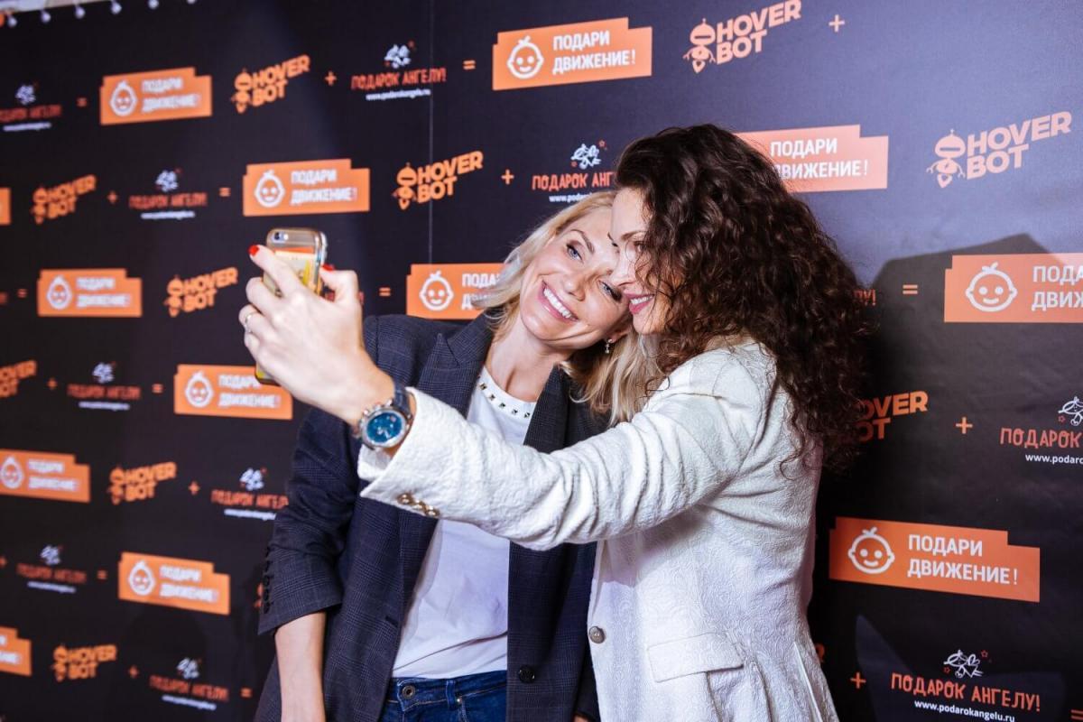 Ведущий Антон Абучкаев провел благотворительное мероприятие