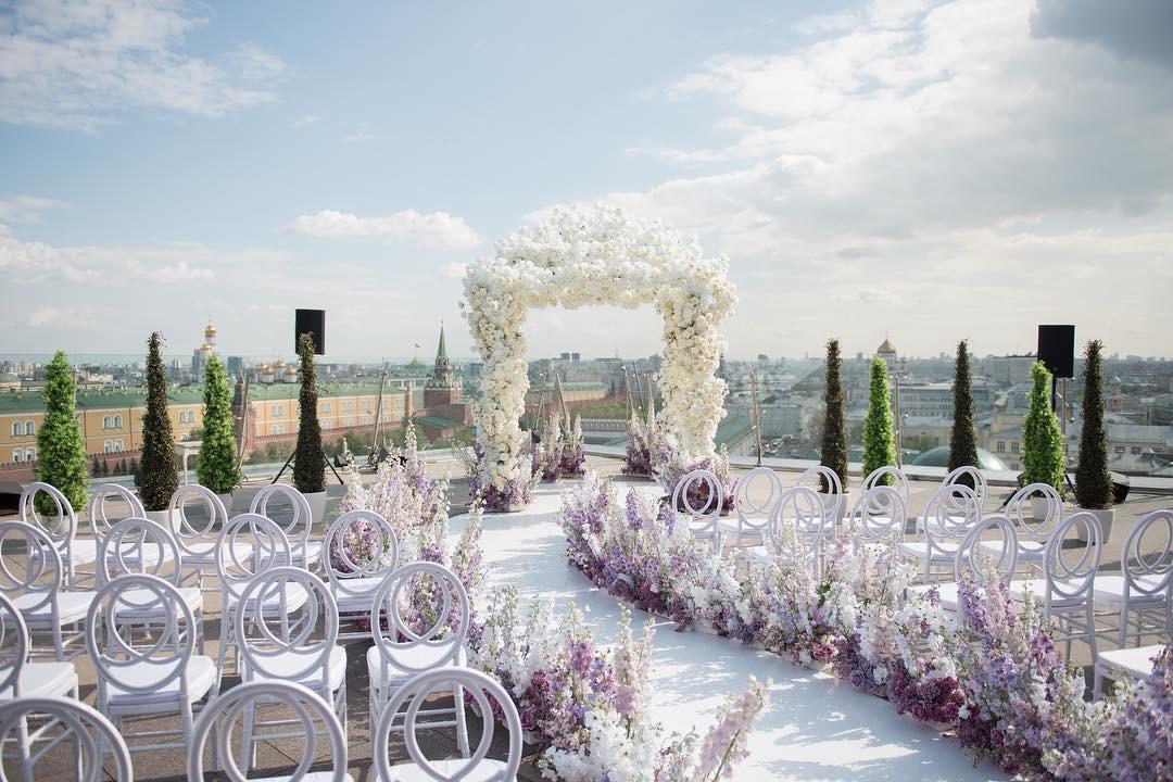 1+1: самые красивые цветовые сочетания в свадебном