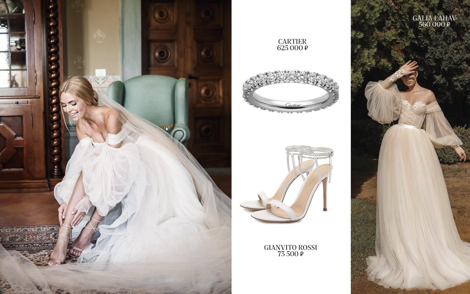 3 свадебных образа на разный бюджет
