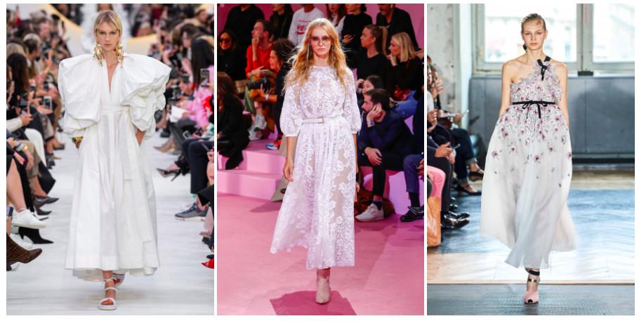 15 лучших свадебных платьев Недели моды в
