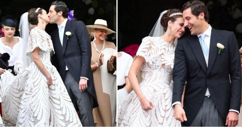 Как прошла свадьба принца Жана-Кристофа, потомка Наполеона