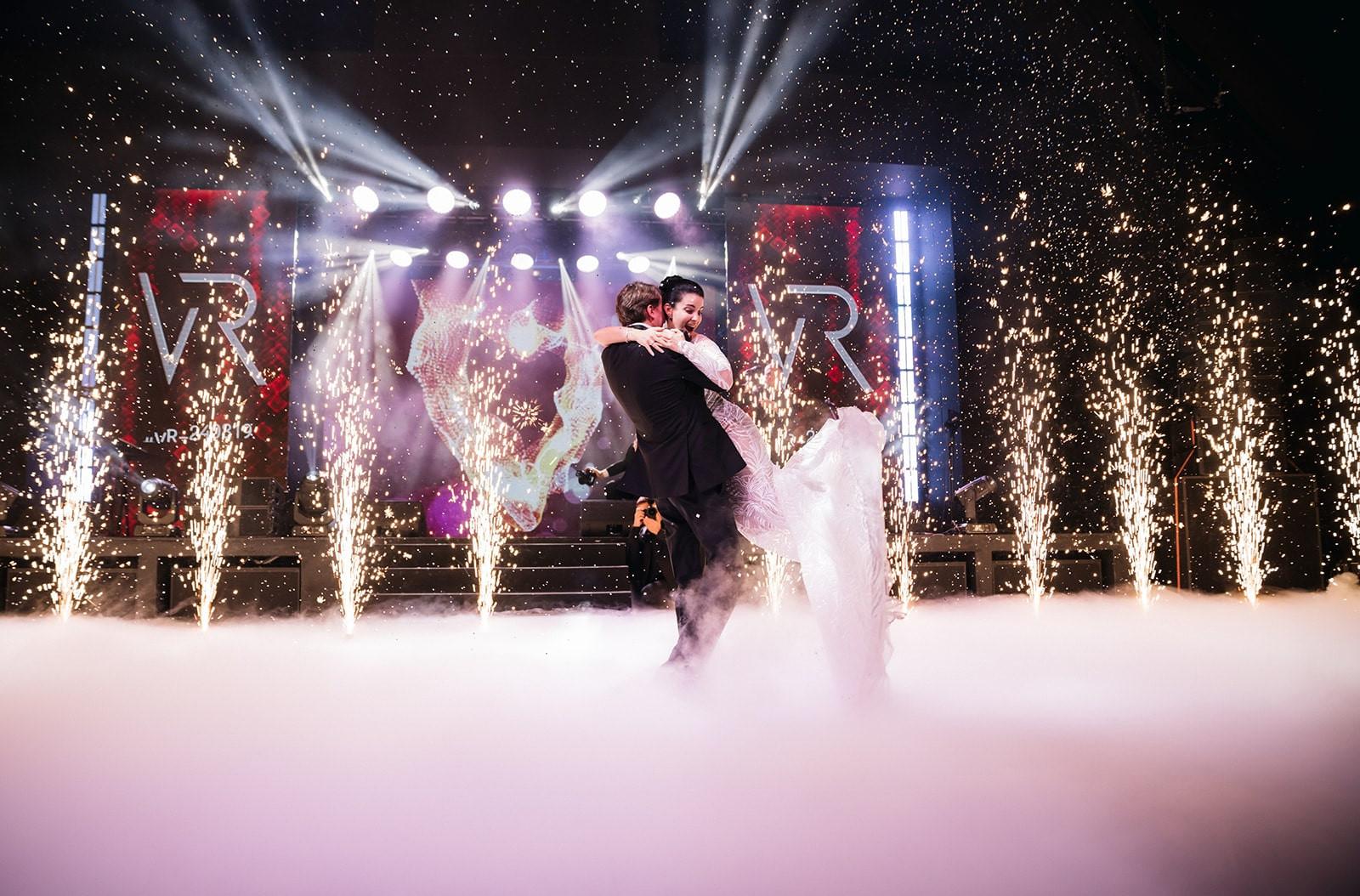 Как создавалась мультимедийная свадьба в старинном замке