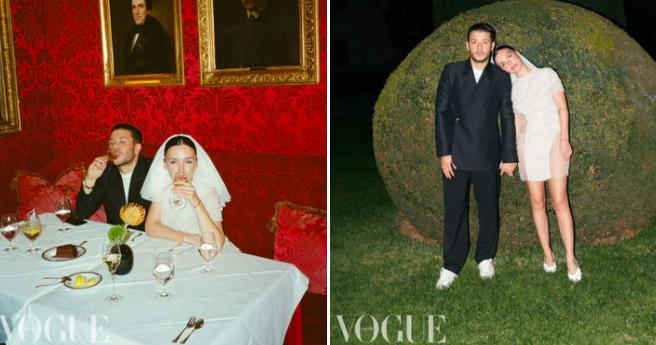 3 свадебных образа Ольги Серябкиной