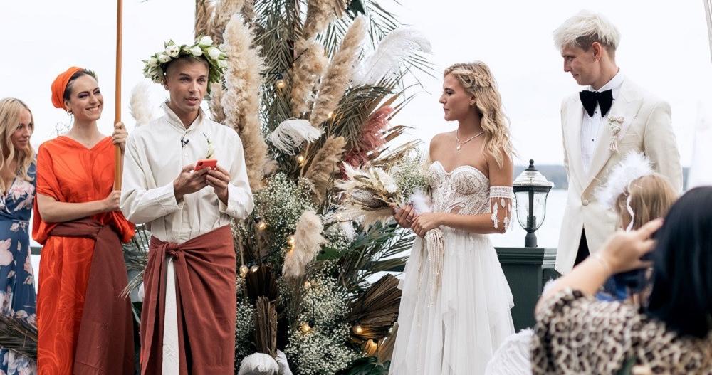 Московская свадьба в балийском стиле