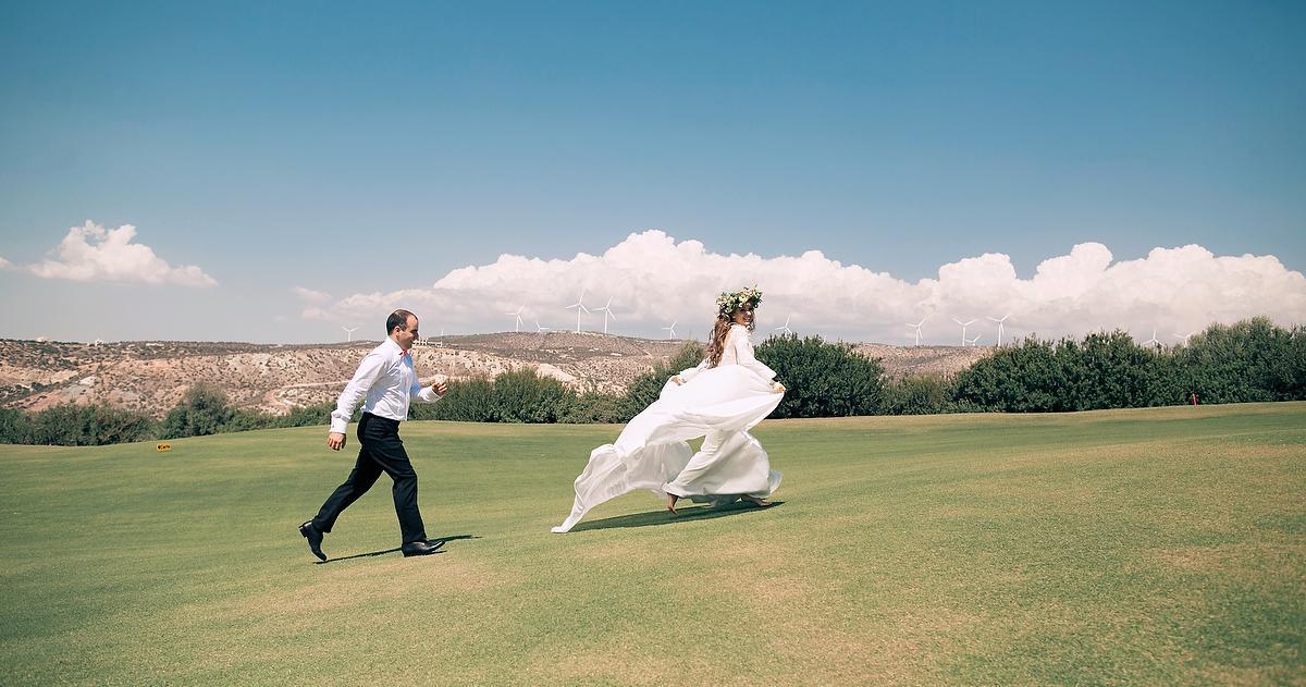 У средиземного моря: свадьба на Кипре