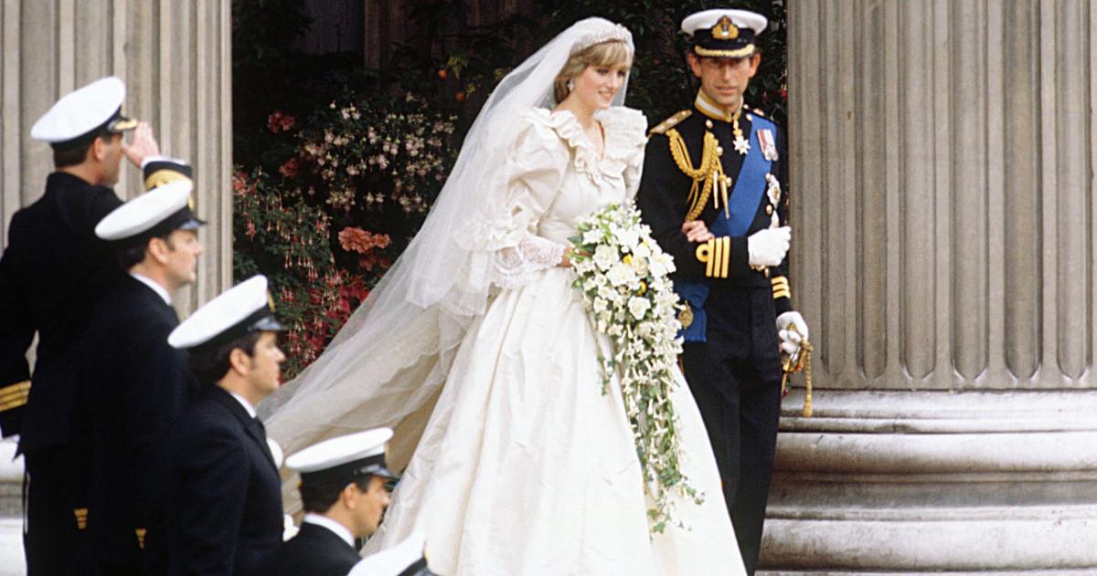 Легендарные свадьбы: Диана Спенсер и принц Чарльз