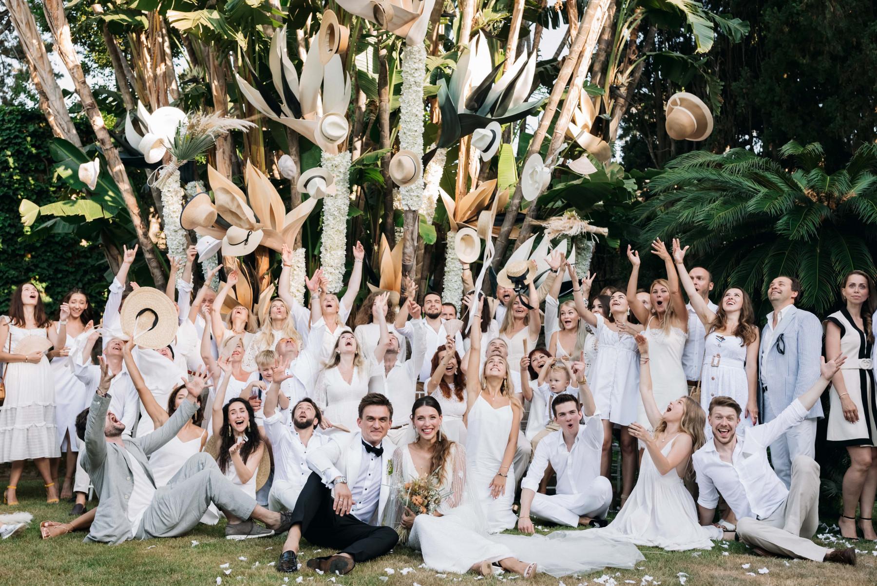 Самые громкие звездные свадьбы прошедшего лета
