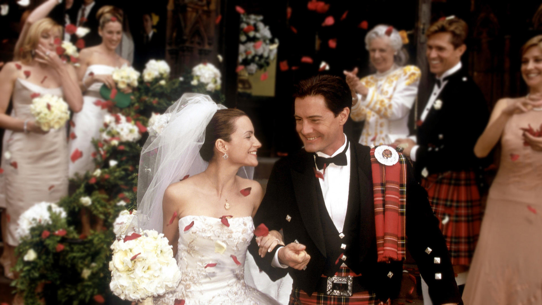 Wedding dresses from your favorite TV series