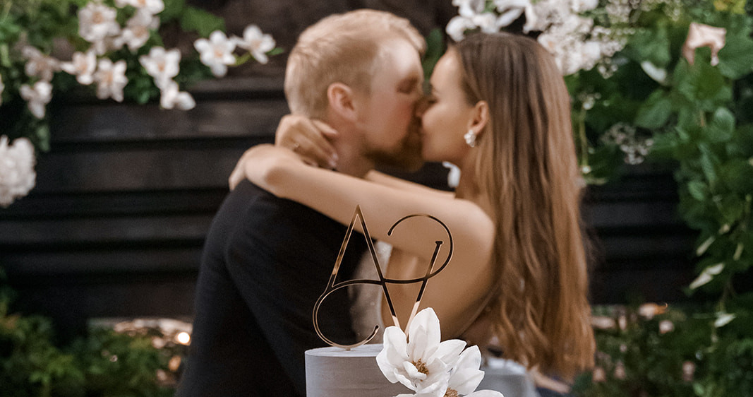 Утонченная свадьба в ресторане Modus