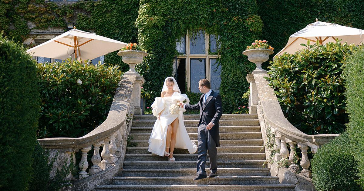 Трогательная свадьба в английском поместье