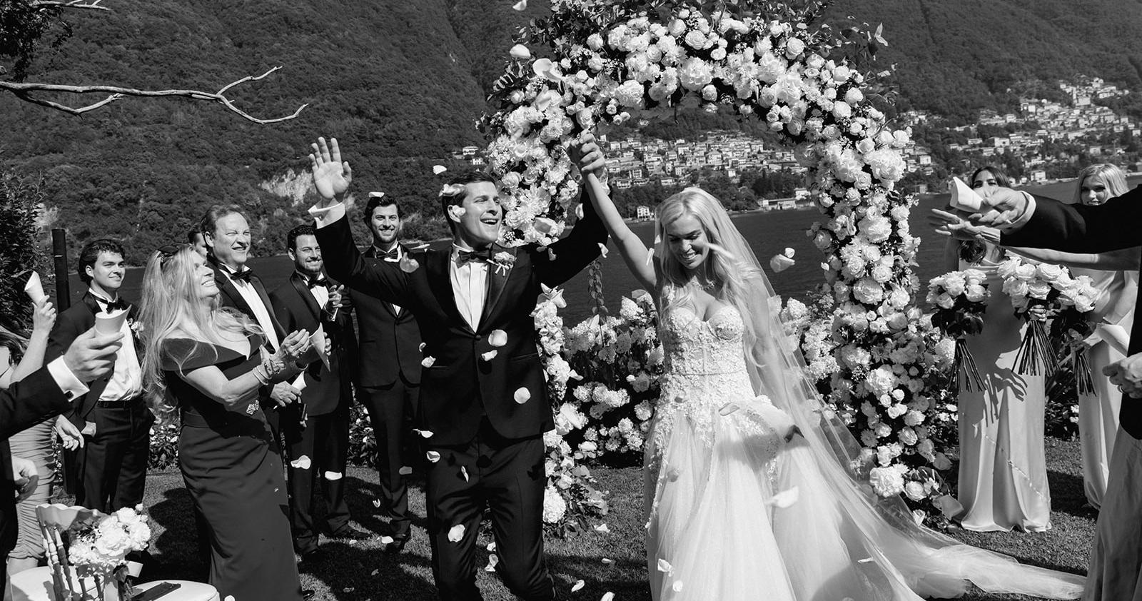 Идеальная свадьба на озере Комо