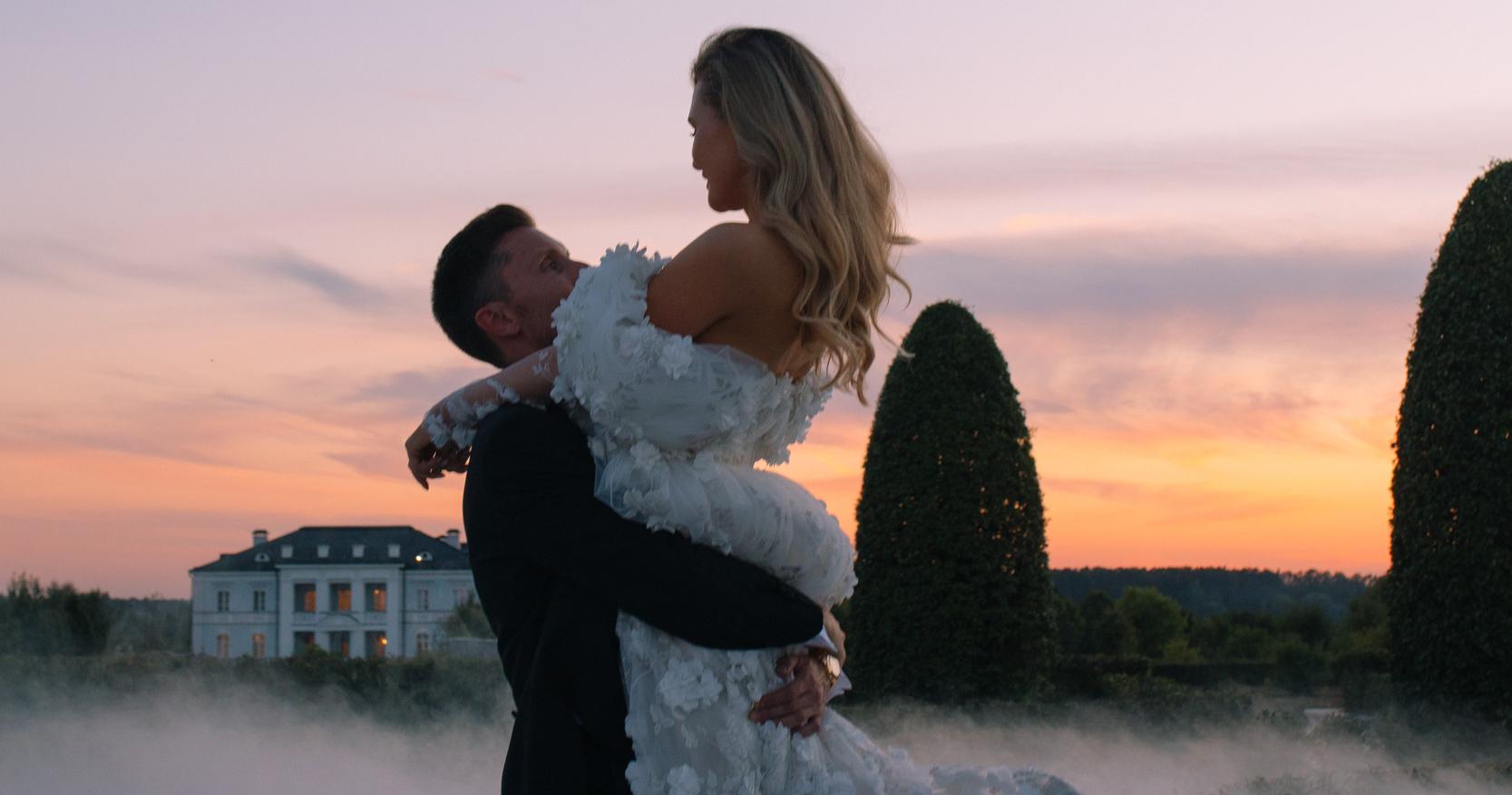 Сказочная свадьба под открытым небом в Villa