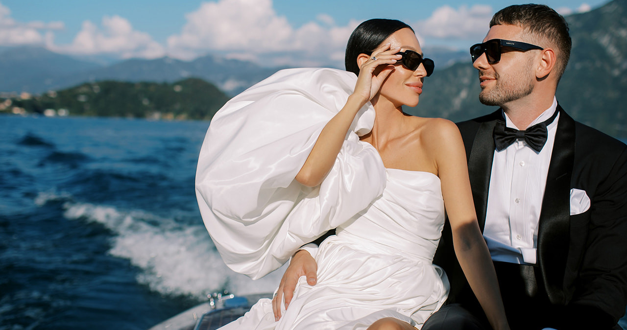 Wedding in Italy by Julia Kaptelova and
