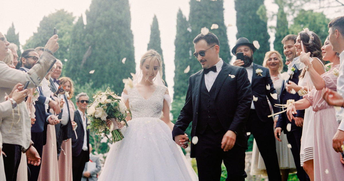 Свадьба Екатерины и Павла в Вероне