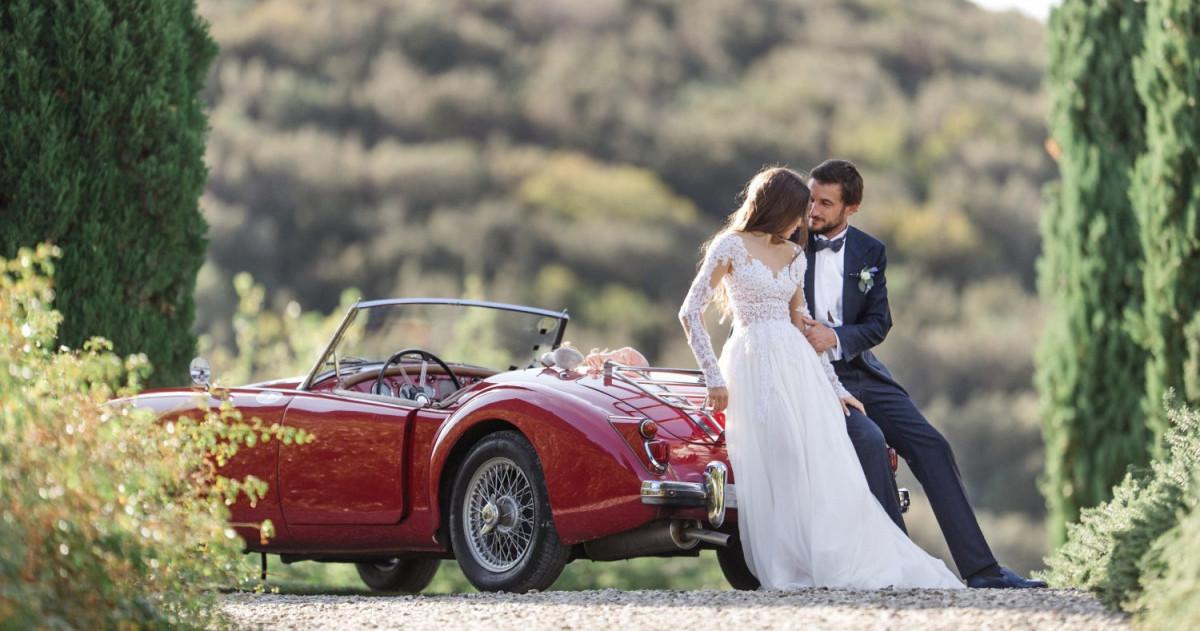 Итальянская свадьба в старинном замке