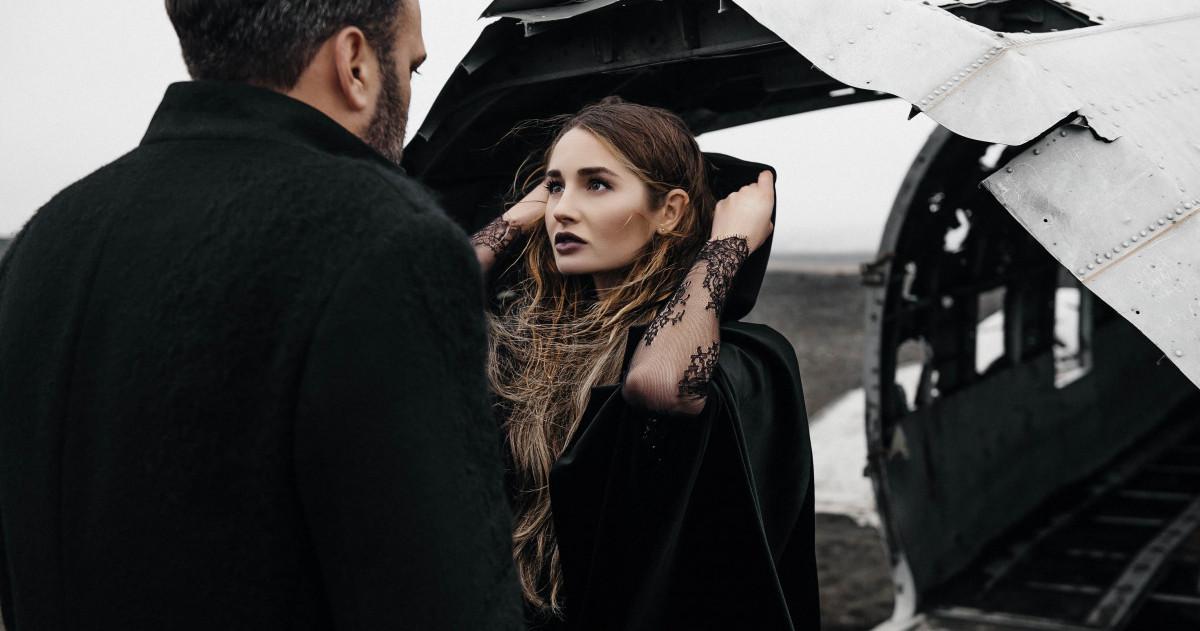 Предсвадебная съемка в Исландии