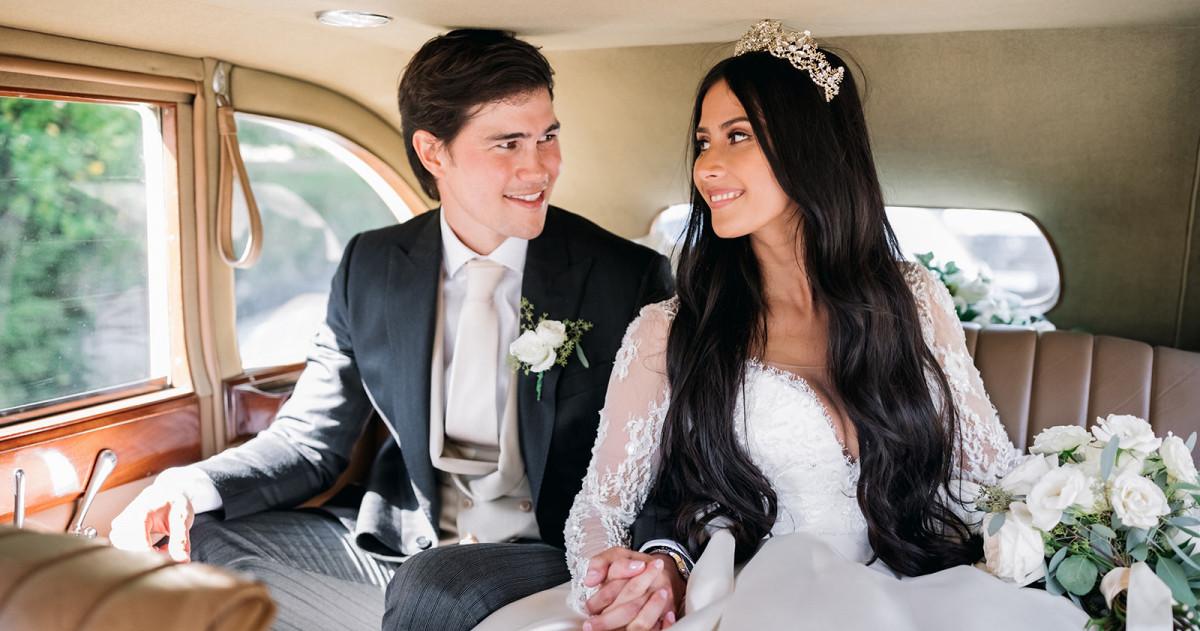«Королевская» свадьба Маргарет и Фила в Англии