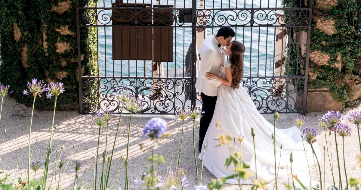 Свадьба на знаменитой вилле Балбьянелло