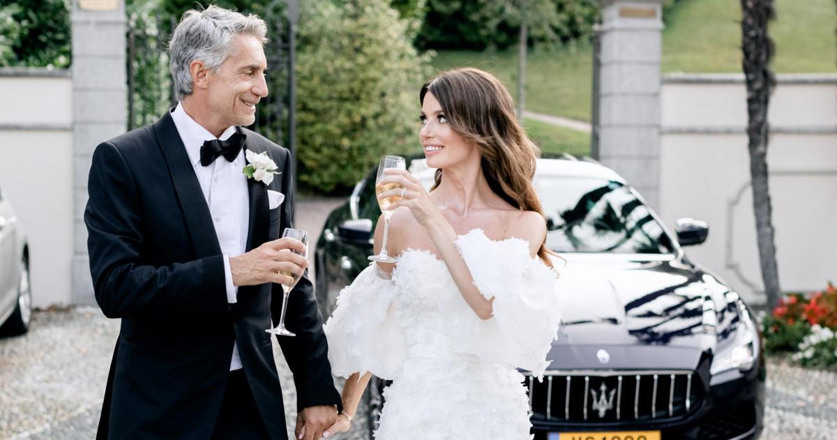 Русско-французская свадьба в Италии