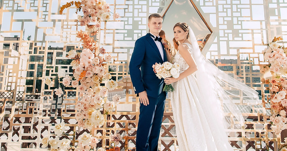 Солнечная свадьба Екатерины и Олега