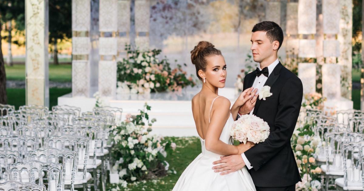 Нежная свадьба Артемия и Софии