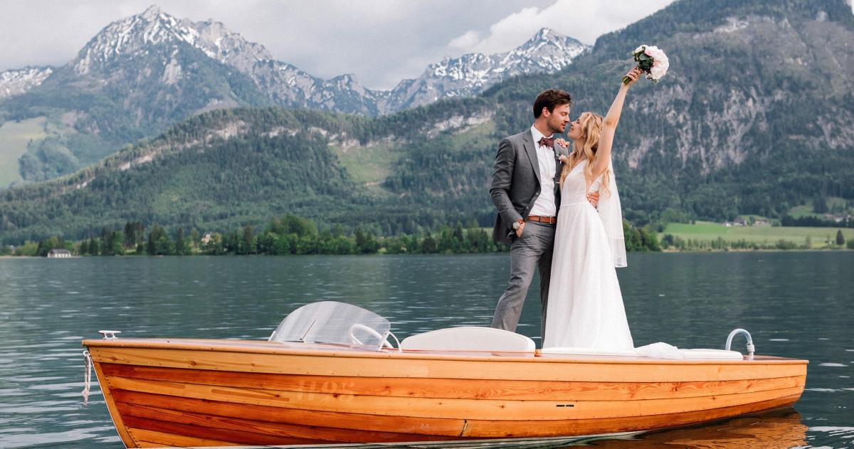 Трехдневная свадьба Виктории и Вольфганга в Австрии