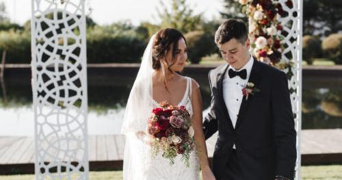 Свадьба Ромы и Риты в яхт-клубе Skyriver