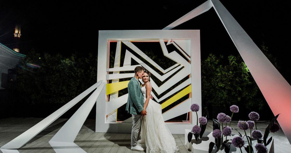 Яркая свадьба Кости и Кати