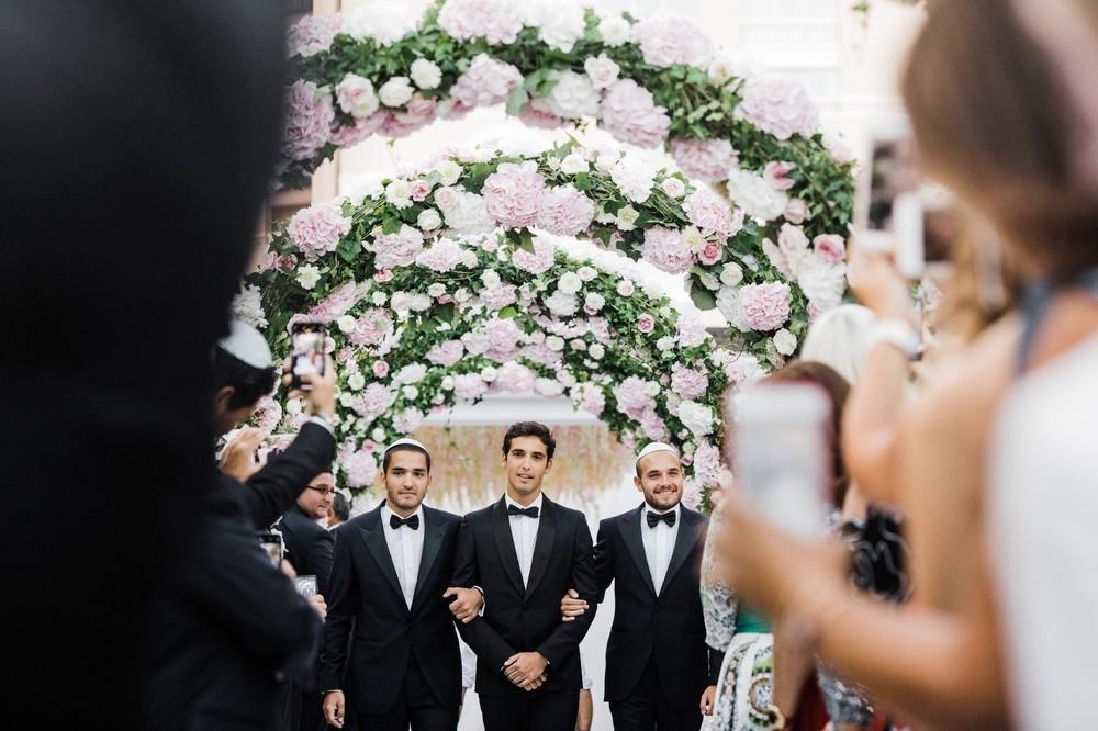 Колоритная свадьба в Монте-Карло