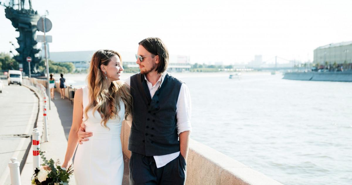 Свадьба в лофте в центре Москвы