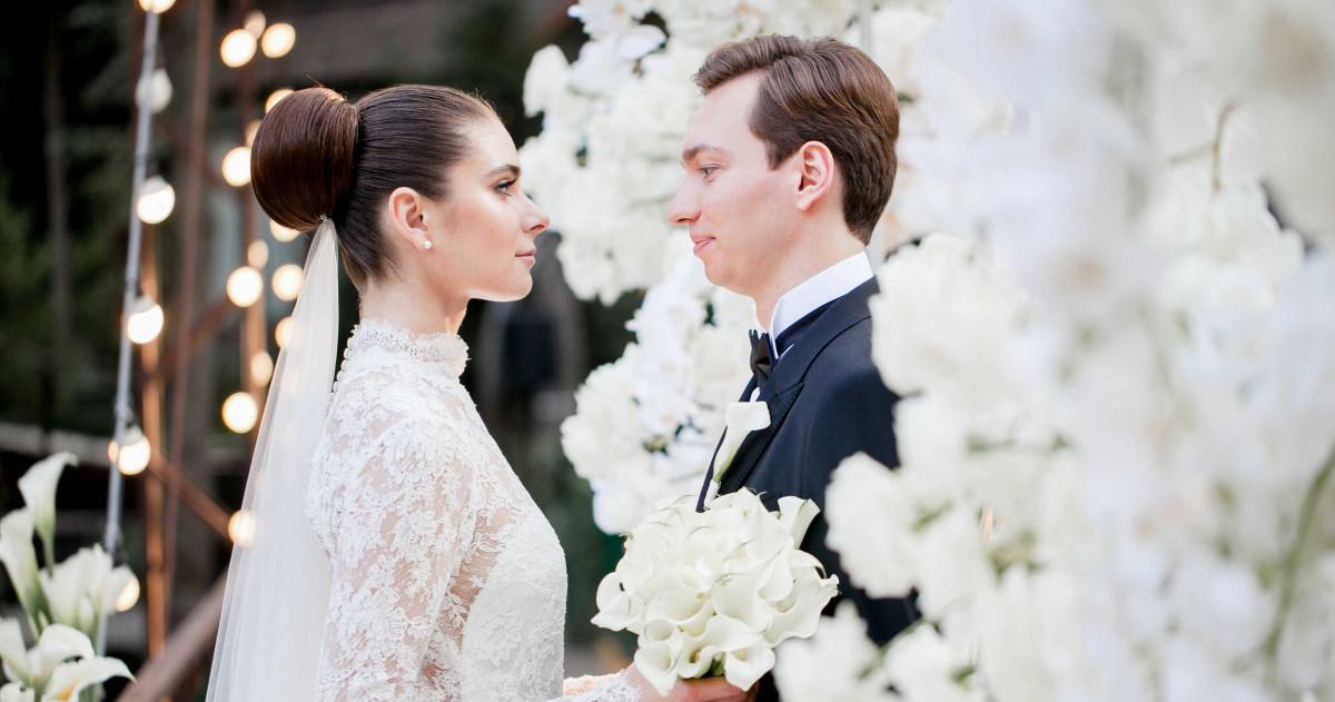 Летняя свадьба среди сосен