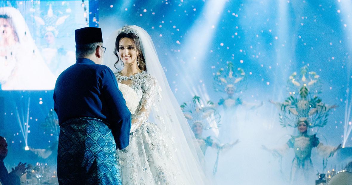 Свадьба короля Малайзии в Барвихе