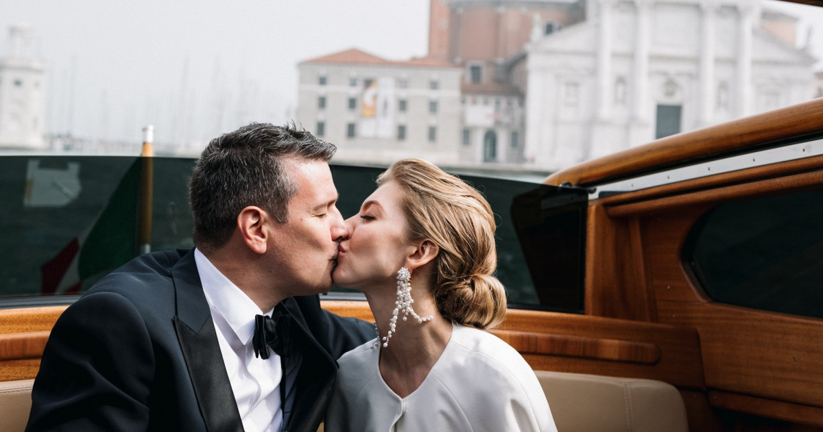Как в кино: свадьба в Венеции